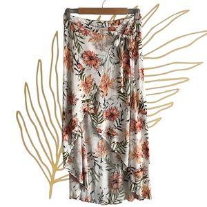 RIPCURL Floral Wrap Maxi Skirt